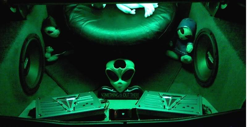 Show us what your running in your ride Alien