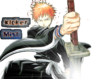 NEW GRAPHIC!!! TAKE A LOOKY! and a other thing that I made for someone BLEACH