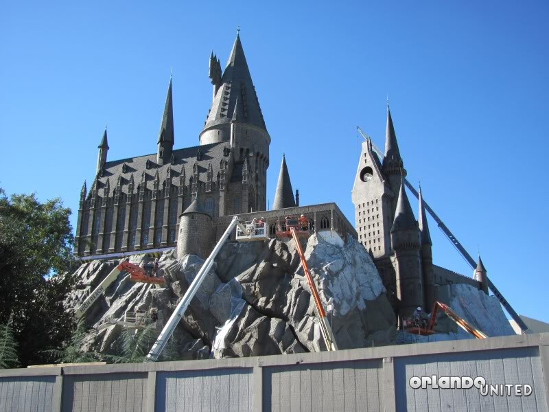 The wizarding world of hp construction pics IMG_2167