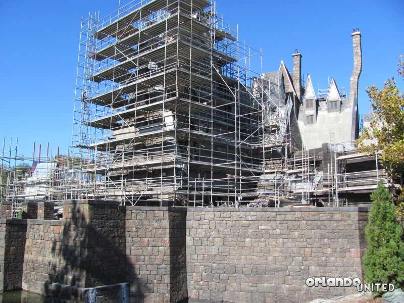 The wizarding world of hp construction pics IMG_2172