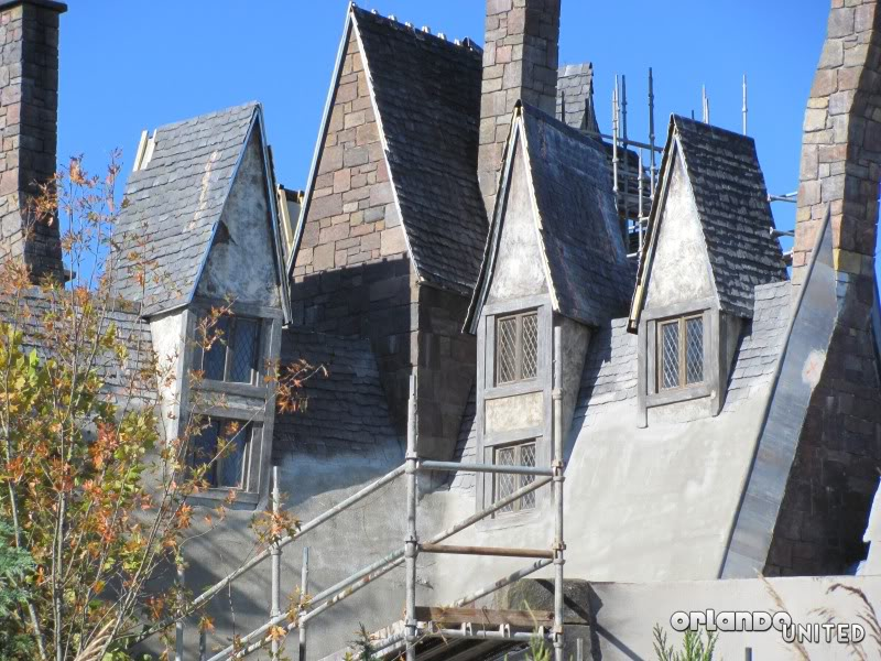 The wizarding world of hp construction pics IMG_2174
