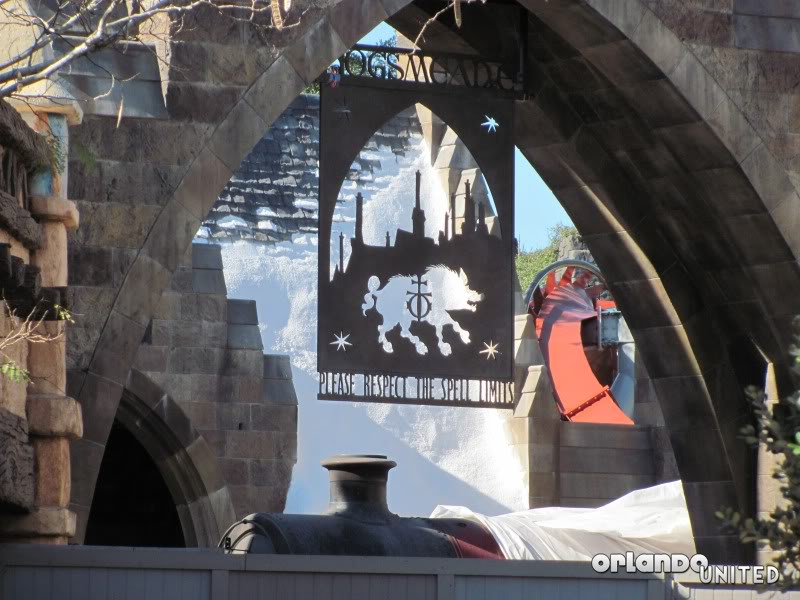 The wizarding world of hp construction pics IMG_2175