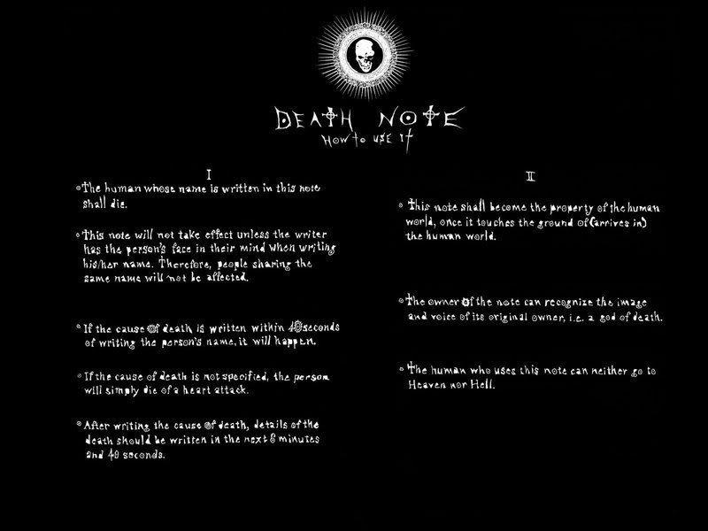 je veux voir... - Page 4 Deathnote2
