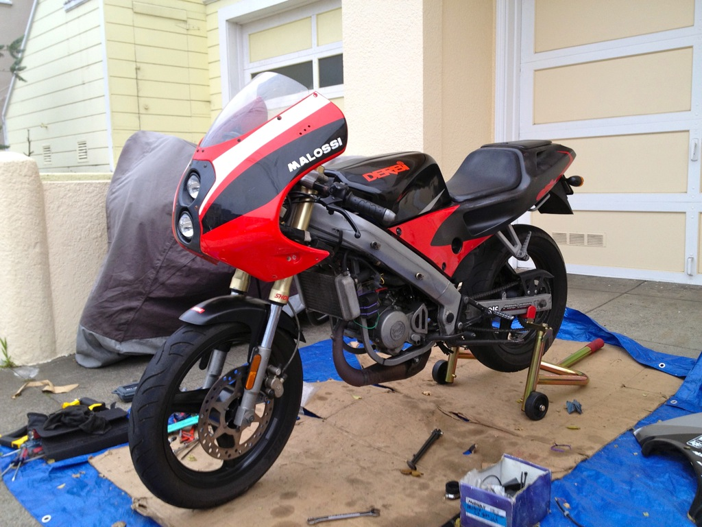 Derbi GPR 2000 - The Red Power In San Francisco File-62