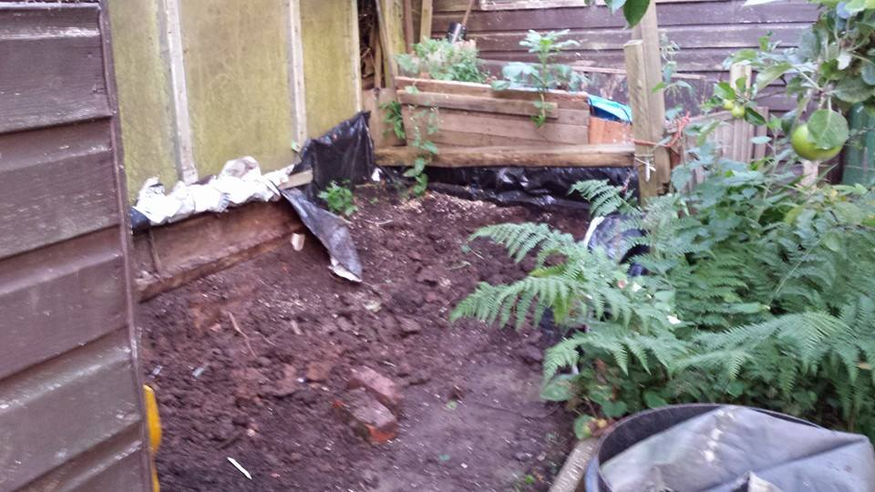 Compost Heap to Rabbit Residence. FINISHED 15-7after3_zps607c247f