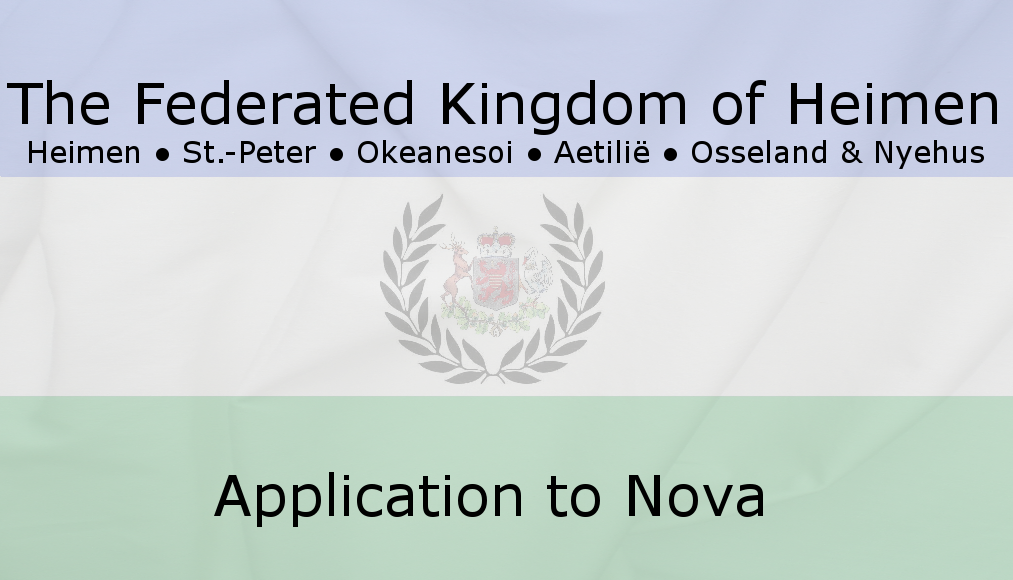 Approved |Federated Kingdom of Heimen Banner