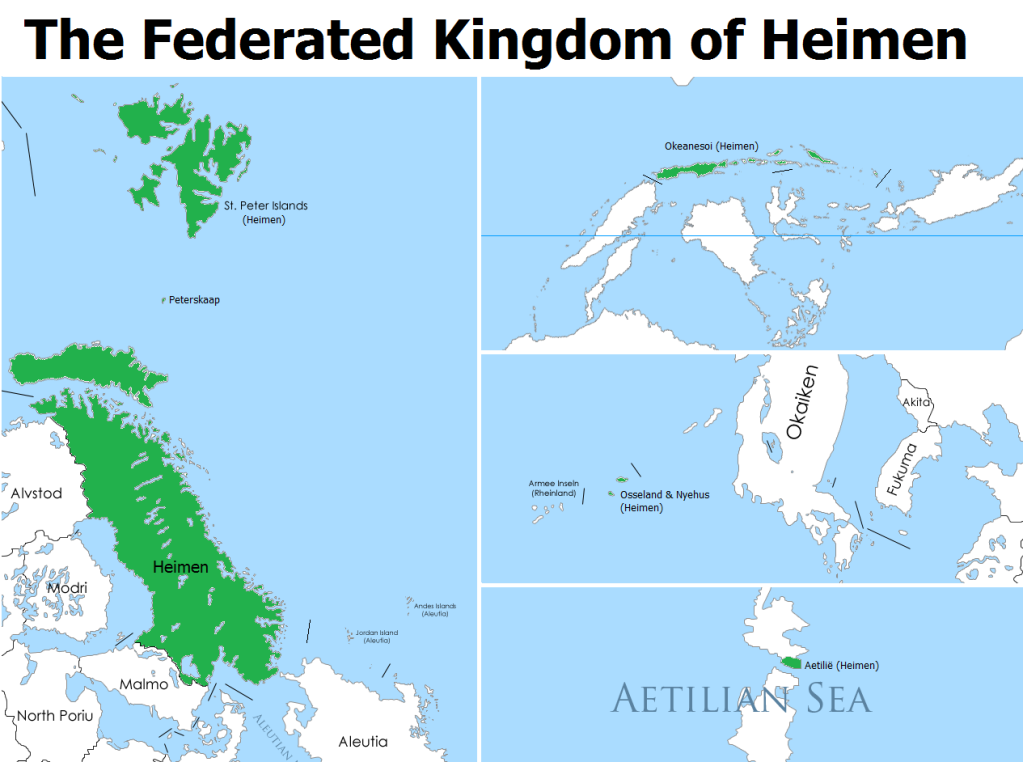 Approved |Federated Kingdom of Heimen Kaart