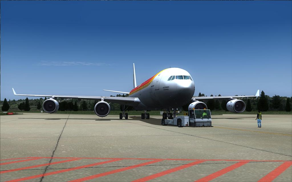 Iberia A340-600 04-6