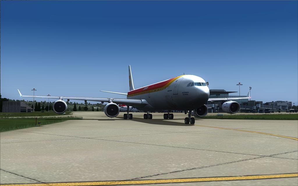Iberia A340-600 07-6