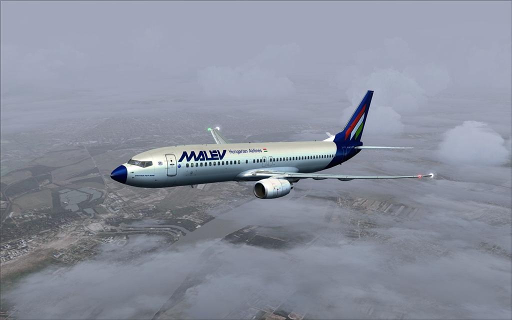 Boeing 737-800 Malev 09-12