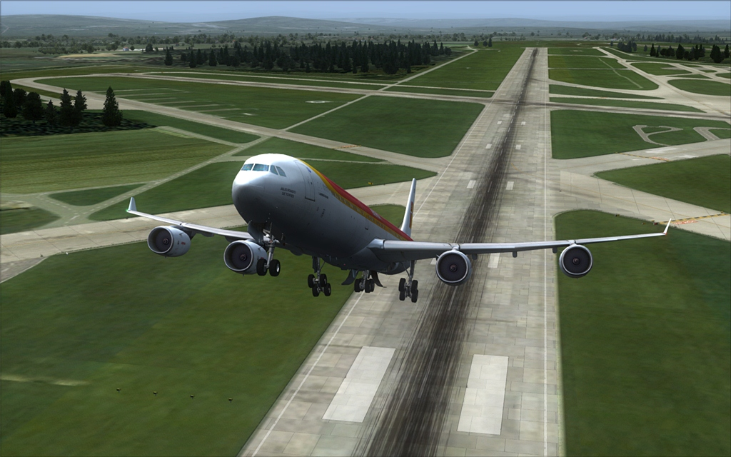 Iberia A340-600 10-6