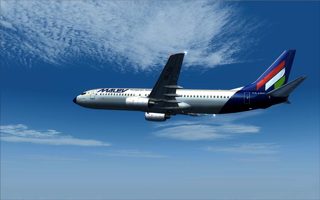 Boeing 737-800 Malev 11-12