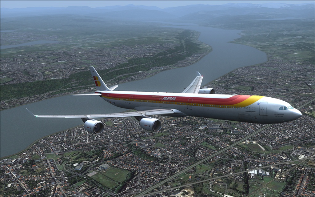 Iberia A340-600 11-6