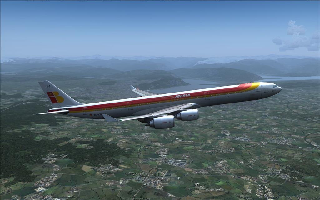 Iberia A340-600 12-6