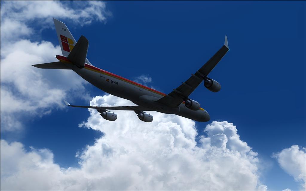 Iberia A340-600 14-6