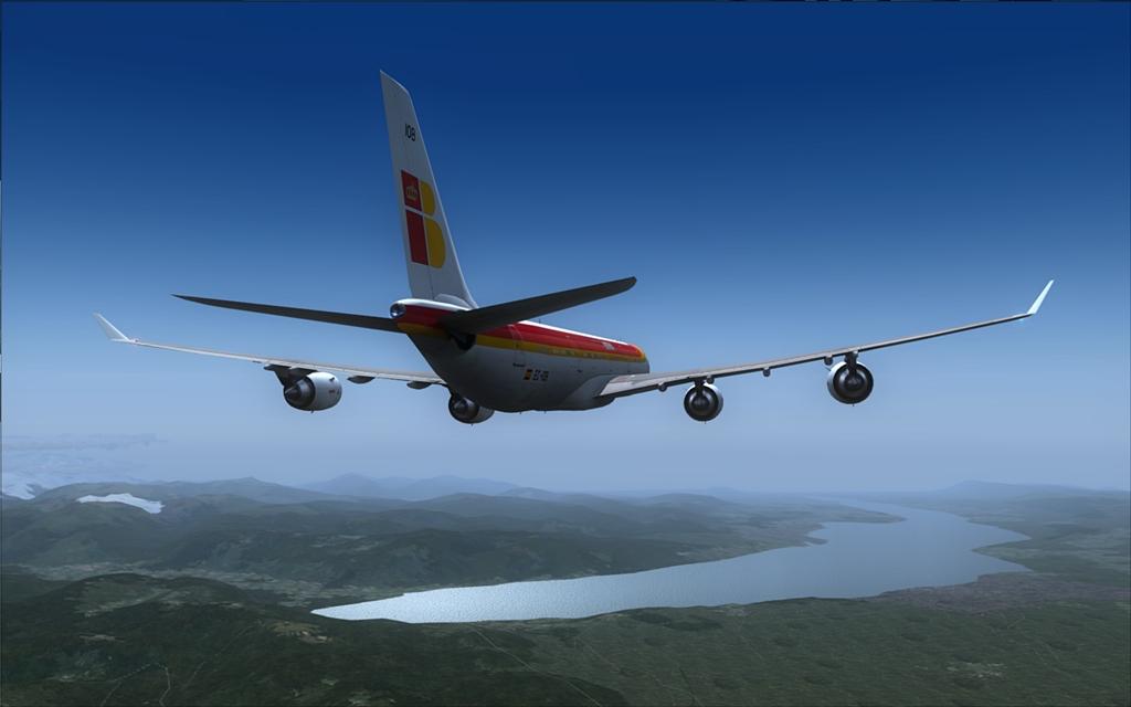 Iberia A340-600 15-6