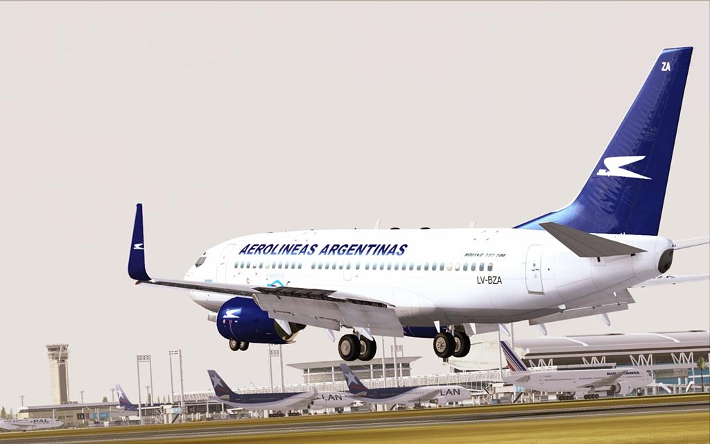 Aerolineas Argentinas 16-4
