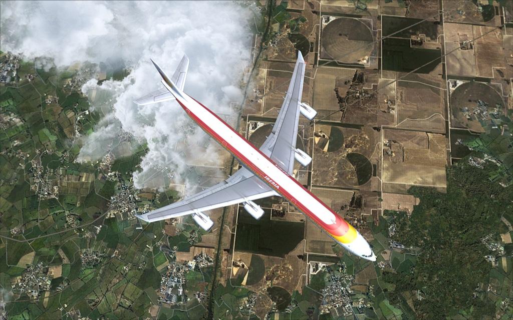 Iberia A340-600 16-6