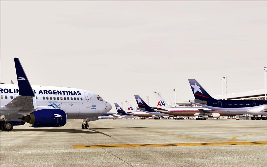 Aerolineas Argentinas 19-4