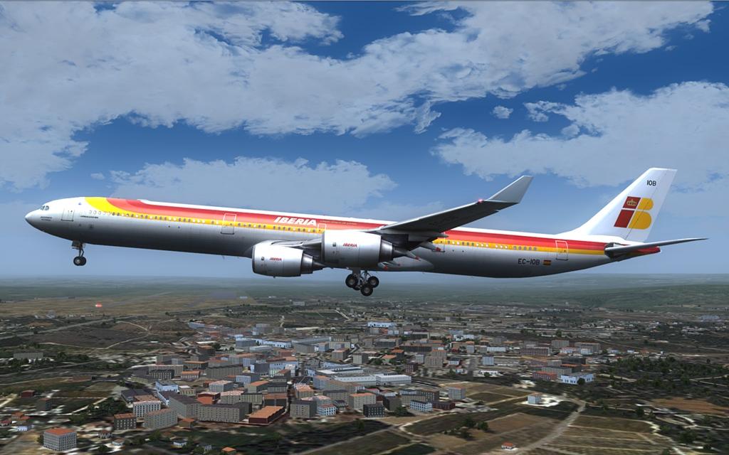 Iberia A340-600 19-6