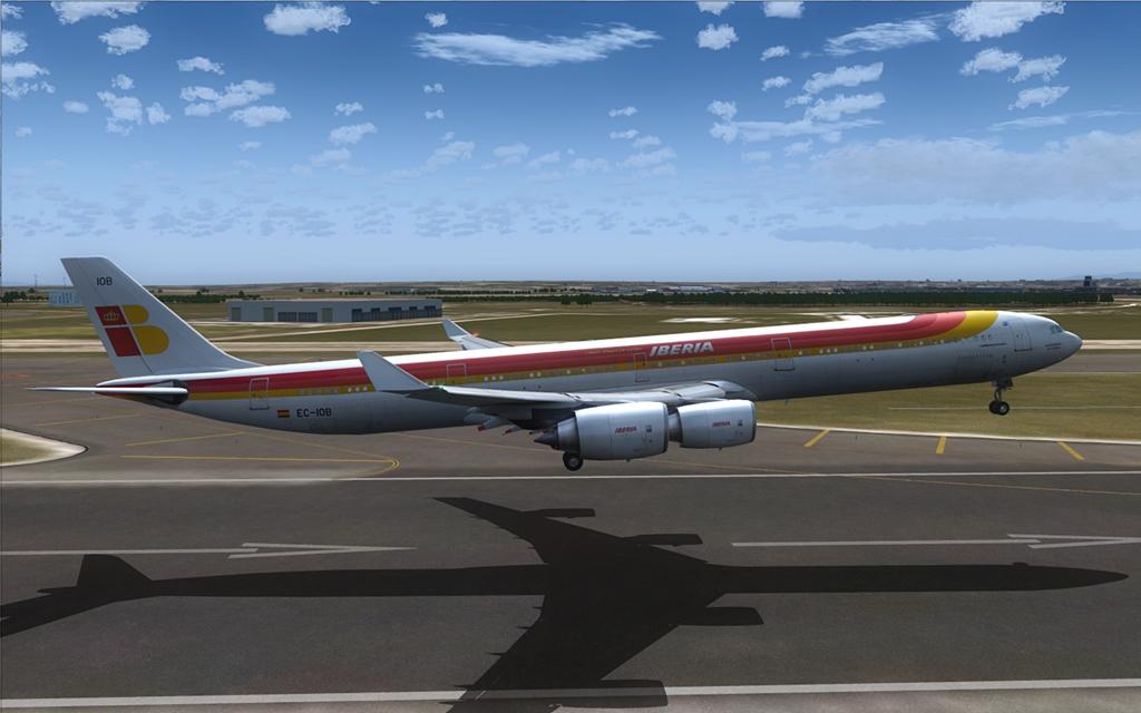 Iberia A340-600 20-6