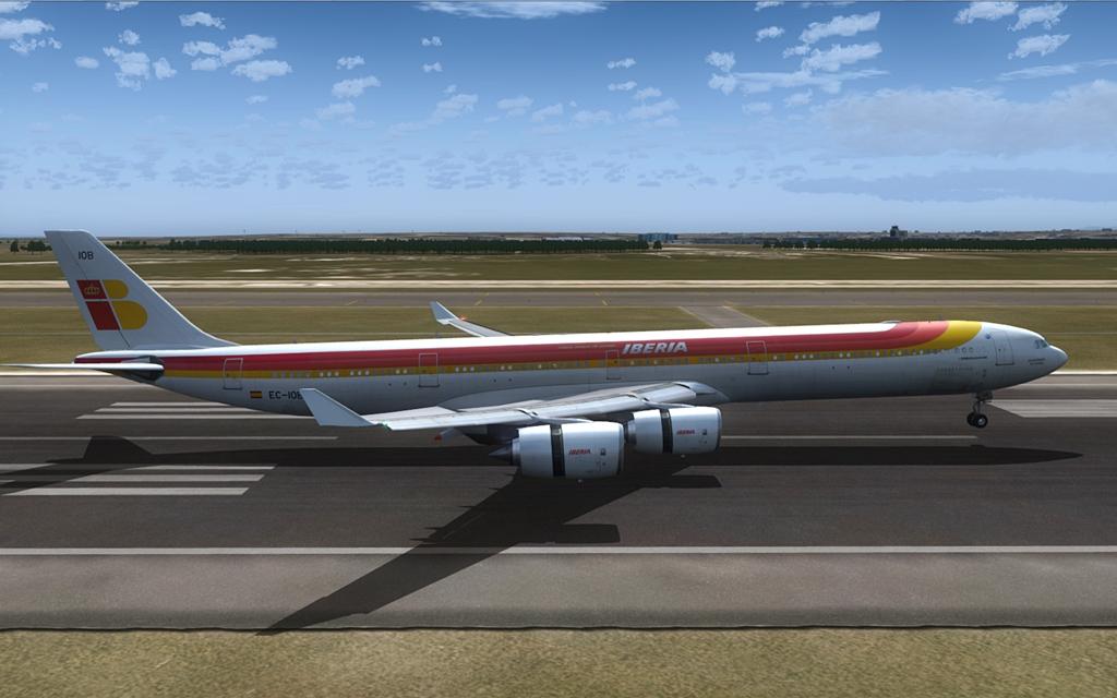 Iberia A340-600 21-5