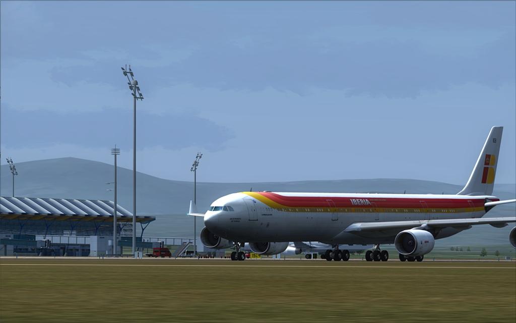 Iberia A340-600 22-5