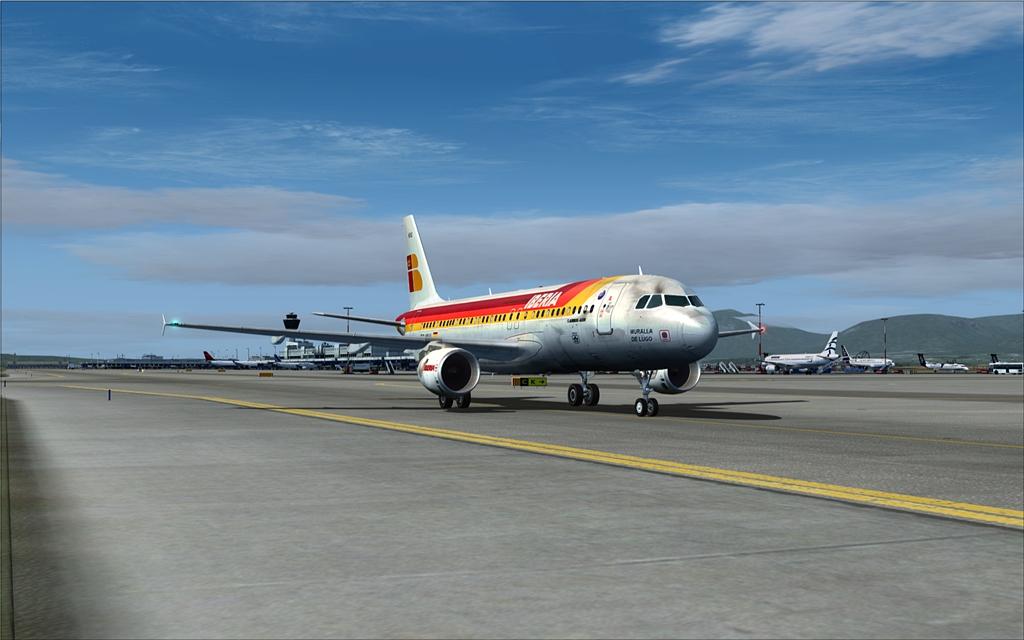 Iberia A320 23-8
