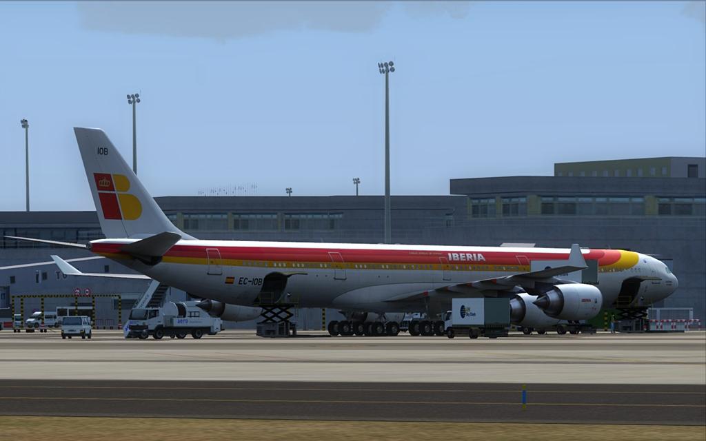 Iberia A340-600 25-1