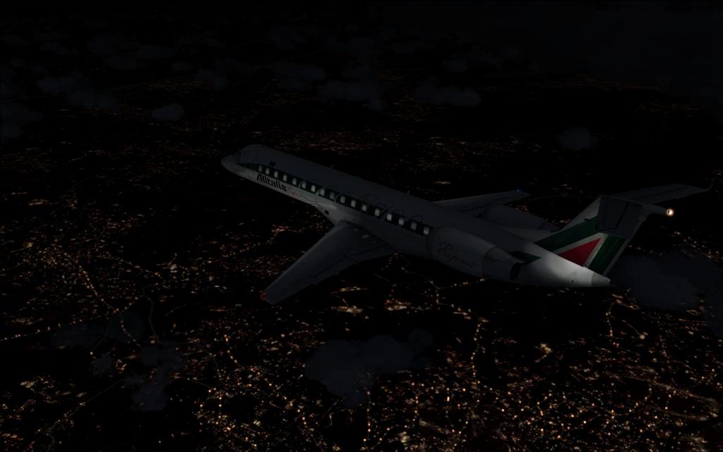 Alitalia ERJ-145 B11-4