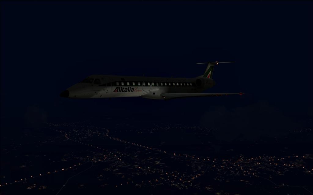 Alitalia ERJ-145 B13-4