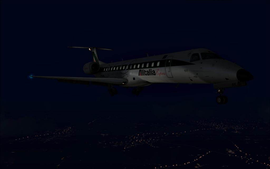 Alitalia ERJ-145 B14-4
