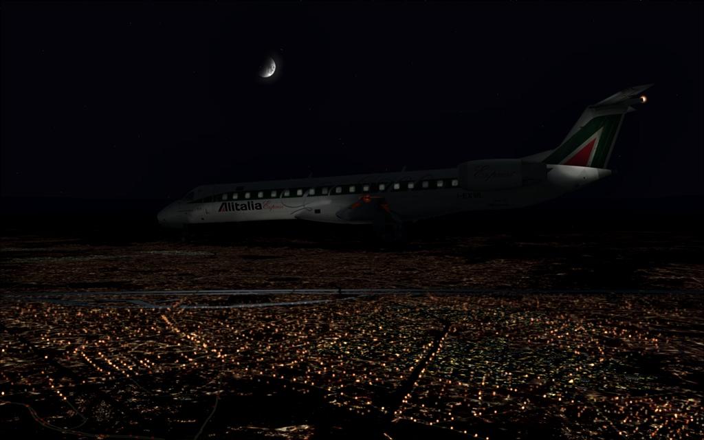 Alitalia ERJ-145 B19-4