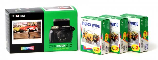Instax 210 Black & Instax 210 Hello Kitty Instax210