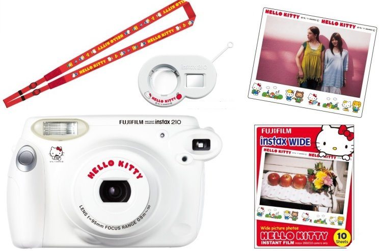 Instax 210 Black & Instax 210 Hello Kitty Instax210hellokitty