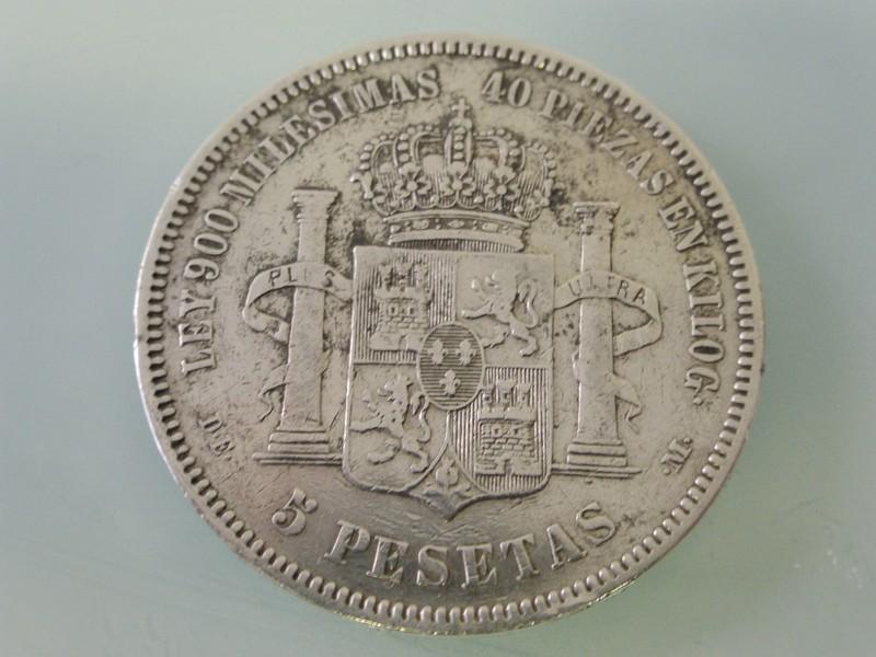 5 pesetas Alfonso XII 1875-77 y Alfonso XIII 1891-97 1875-P1010386_zpsprathw7x