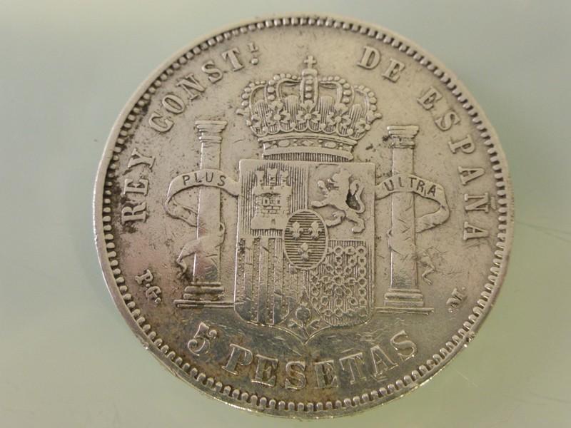 5 pesetas Alfonso XII 1875-77 y Alfonso XIII 1891-97 1891-P1010390_zpsyezlneu1