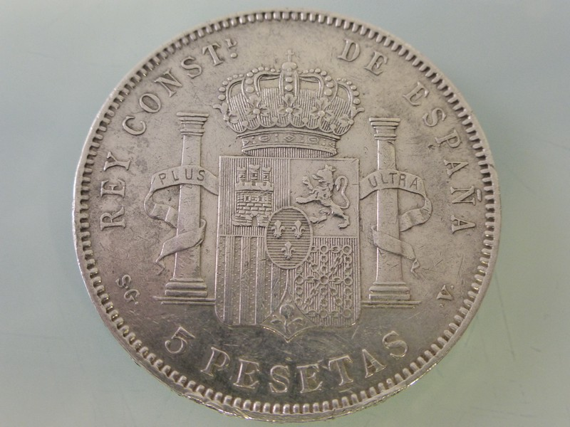 5 pesetas Alfonso XII 1875-77 y Alfonso XIII 1891-97 1897-P1010392_zpsnk2jzrxs