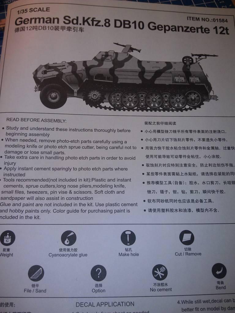 gepanzerte 12T (SDKFZ 8 DB10) trumpeter 1:35 IMAG2320