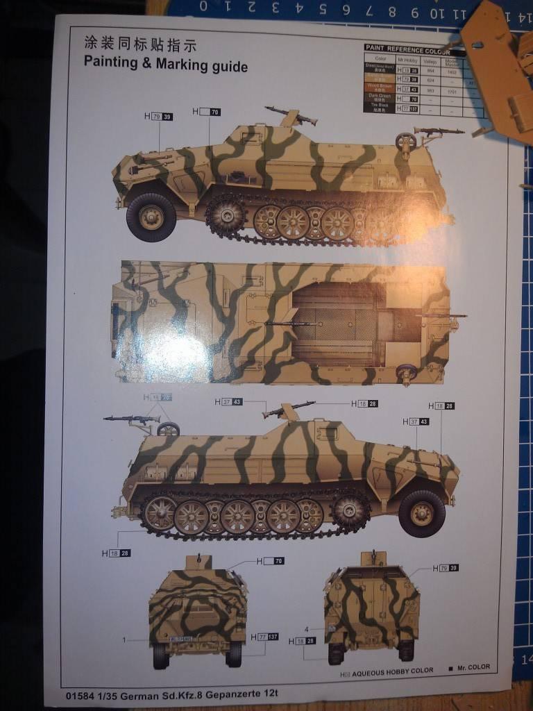 gepanzerte 12T (SDKFZ 8 DB10) trumpeter 1:35 IMAG2321