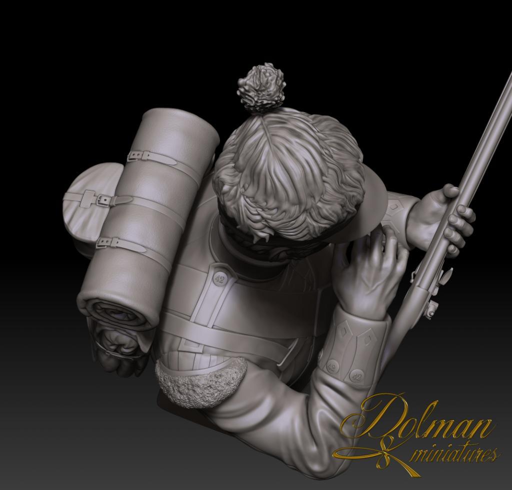 "42nd Highlander ""The Black Watch"" Dolman Miniatures Feathers16_zpsbf1b195d"