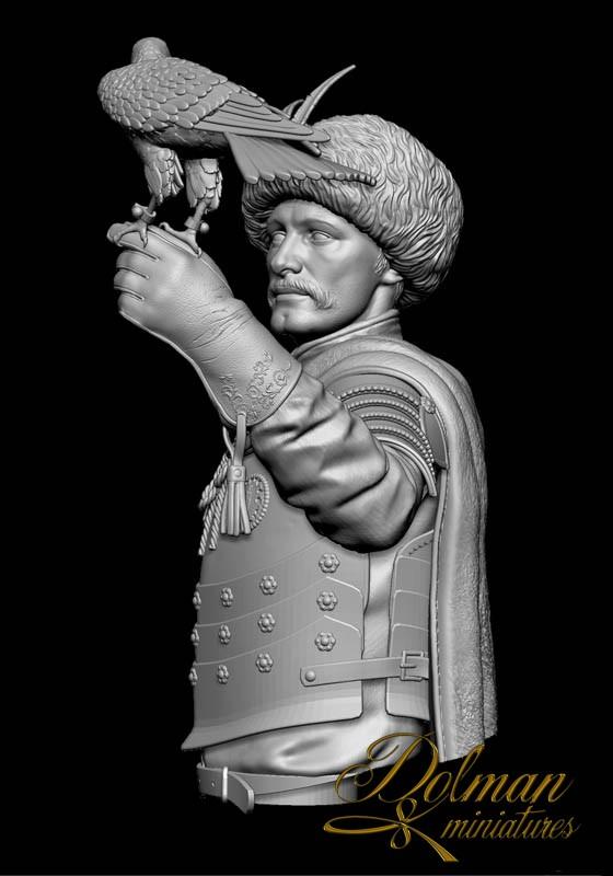 THE FALCONER....Dolman Miniatures Falconer-%20Bust03_zpstffthzn2