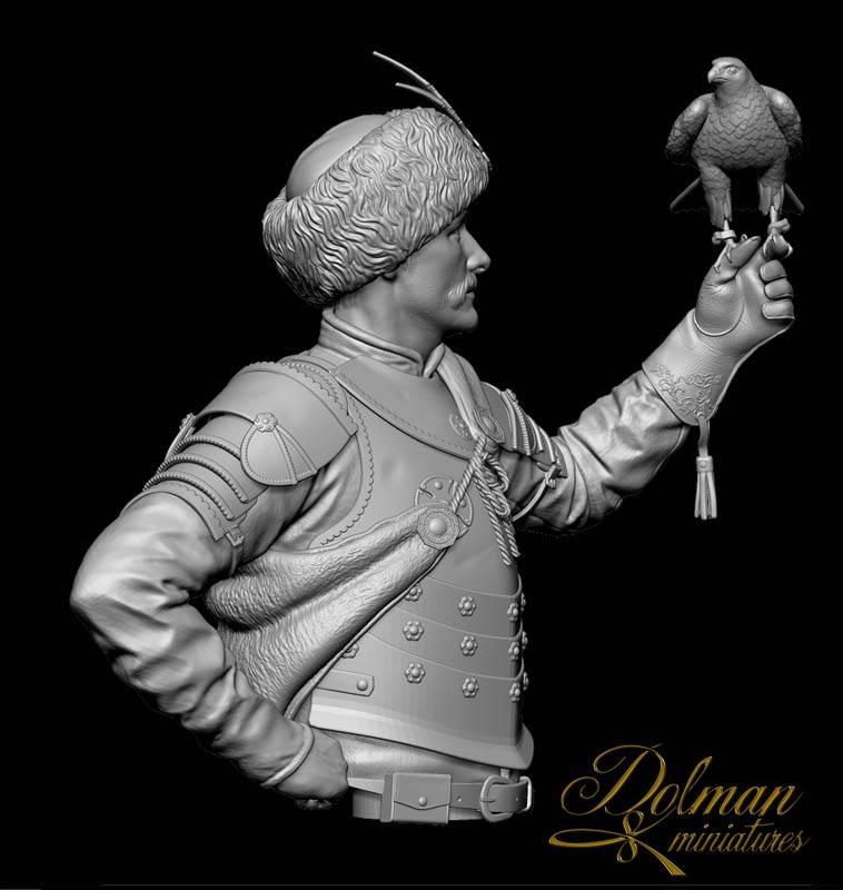 THE FALCONER....Dolman Miniatures Falconer-%20Bust04_zpsj5zsfoi9