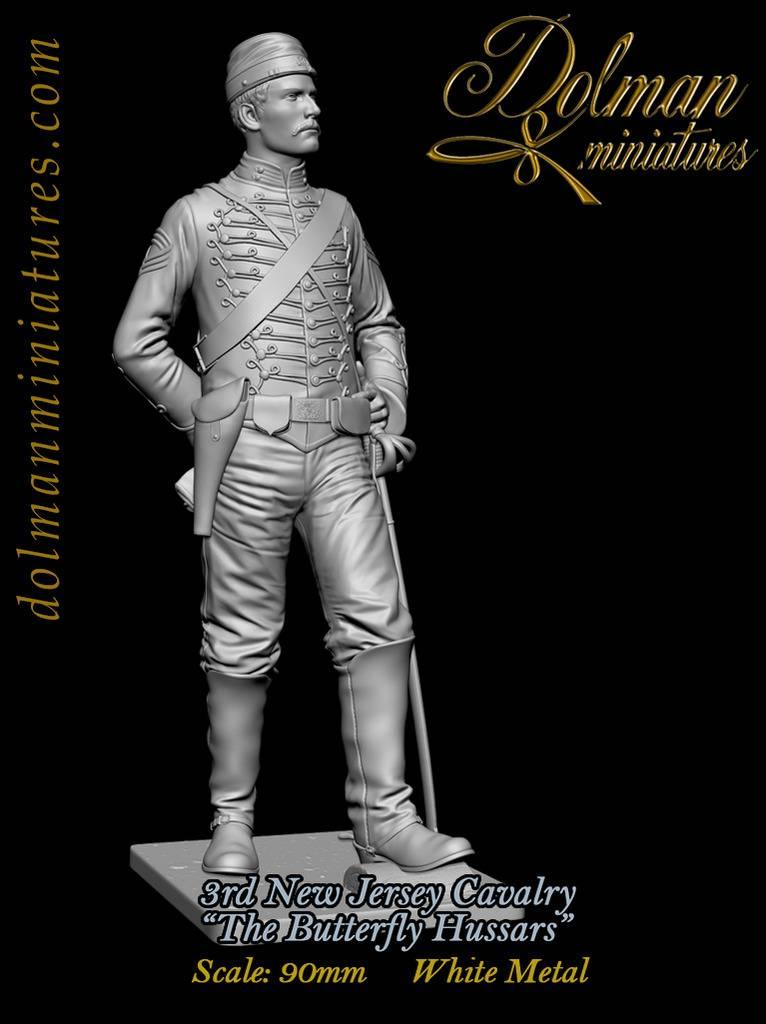 3rd New Jersey Cavalry ...Dolman Miniatures TarjetaMariposaGris2_zpszvlklq95