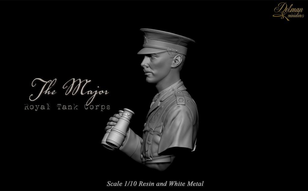 """ The Major "" Royal Tank Corps .....Dolman Miniatures Image00005_zpsju1vy7cx"