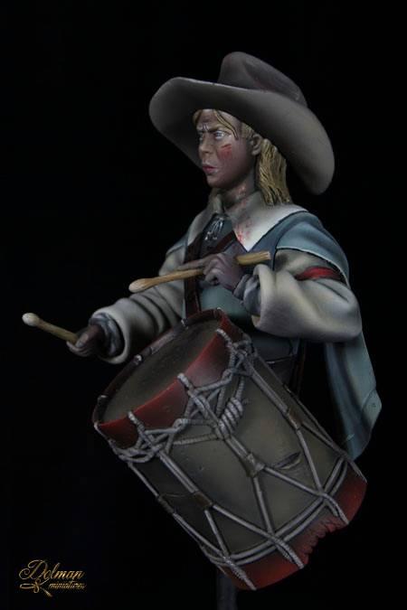 Dolman Miniatures.Drummer Boy. 30th Years War. 1643 7_zps4c41c897