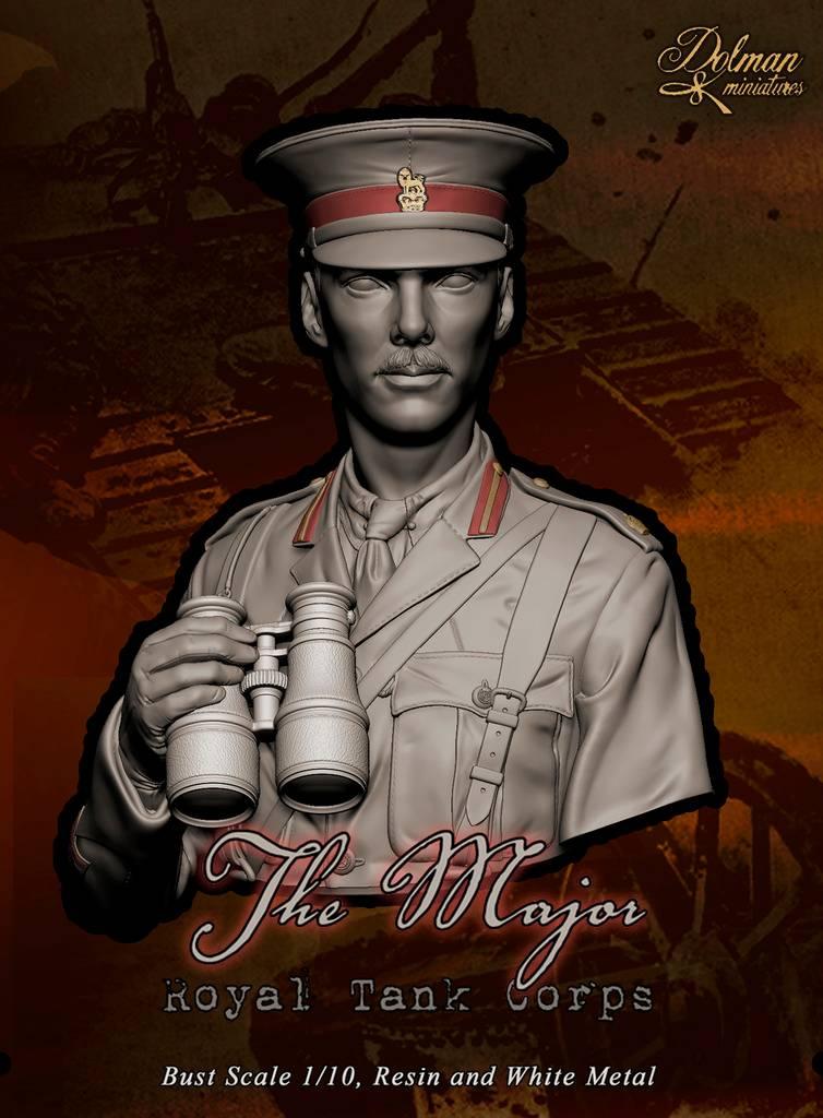 """ The Major "" Royal Tank Corps .....Dolman Miniatures Kavayo_2._zpse3j9pqcq"
