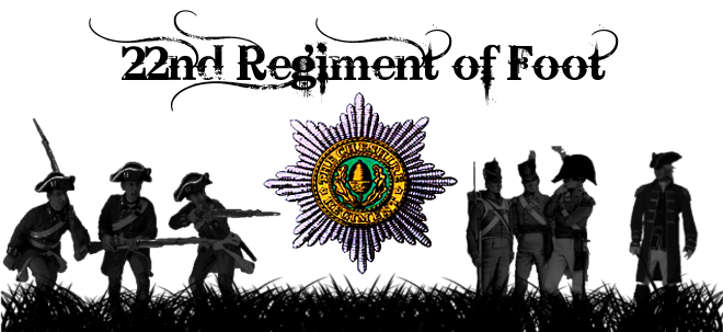 22nd Cheshire Regiment of Foot