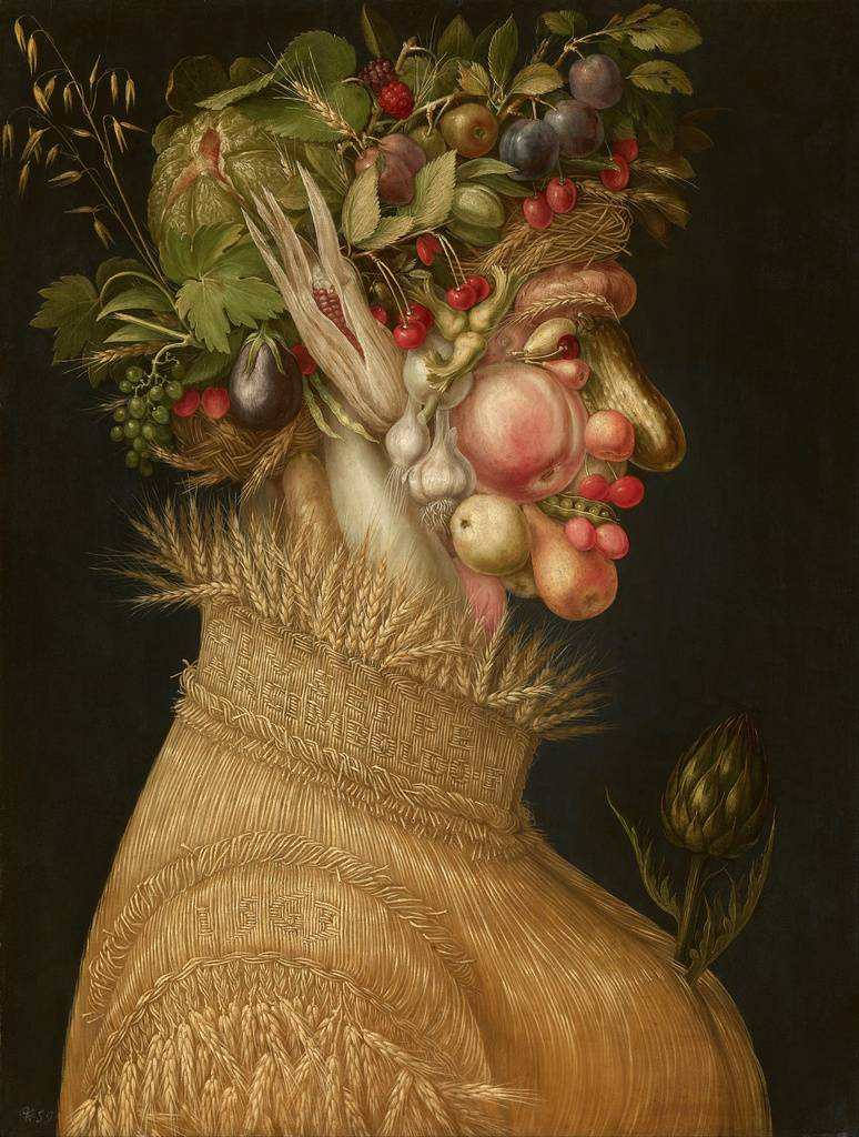 vegetables in Art Giuseppe_Arcimboldo_-_Summer_-_Google_Art_Project_zpswtkmwpaz