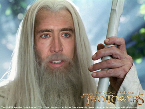 Could Tolkien Have Fixed The Hobbit Films? - Page 4 Nicolas_Cage_as_Gandalf_zpsfyca1pae
